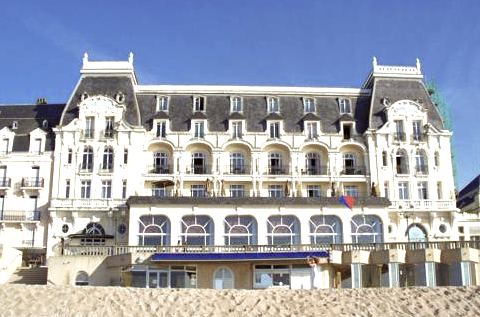 Le Grand Hôtel Cabourg (where Marcel Proust once lived)