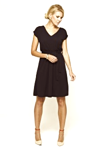 Gathered shoulder 'wash and go' dress from Hotsquash