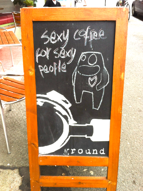 Sexy coffee for sexy people (but everyone is welcome!)
