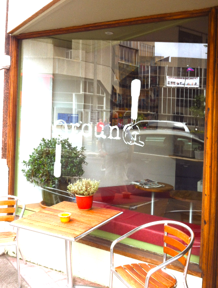 Perfect for watching the world go by on Church Road, Hove (opposite the Town Hall)