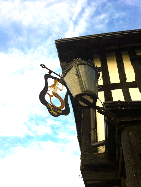 The Mermaid Inn, Rye, East Sussex (rebuilt in 1420)