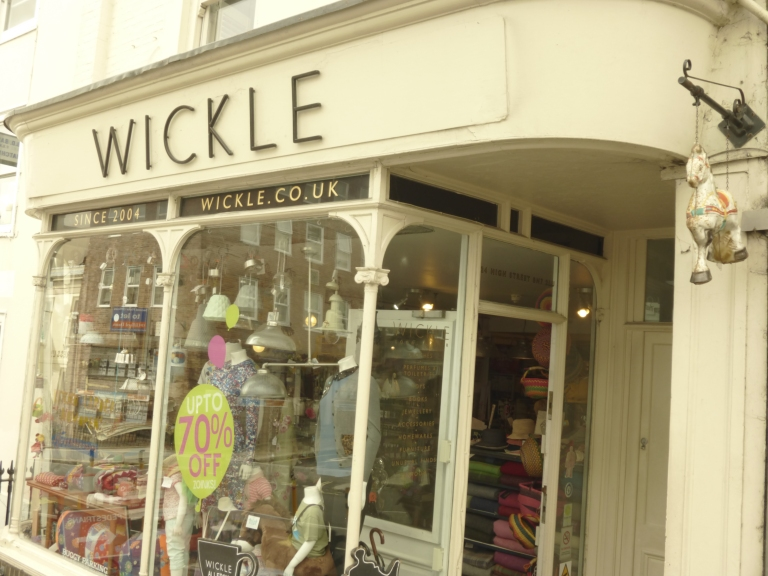 Wickle, Lewes...take-away coffee available too...but why go out when you can sit in?