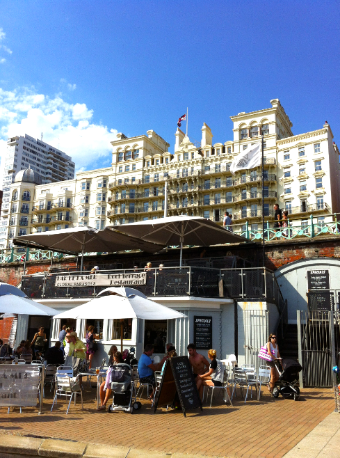 Positioned directly across the road from the iconic Grand hotel