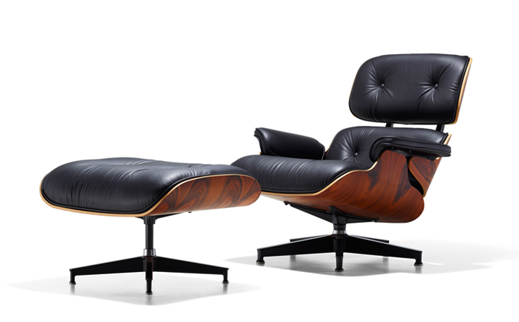 Lounging...Eames style...