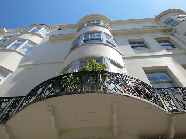 The classic Regency Town House look of Blanch House, Brighton