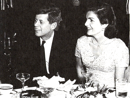 No need to be rich or famous to join Brighton's newest member's club (JFK and Jackie, at his 39th birthday party at the Stork Club, New York, photograph from the private collection of the Billinsgley family, courtesy of Shermane Billingsley)