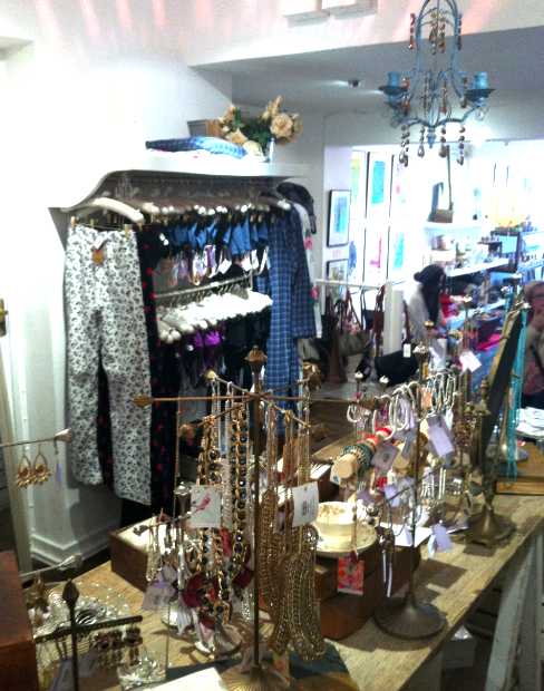 Check out the Hush PJs and cute jewellery...