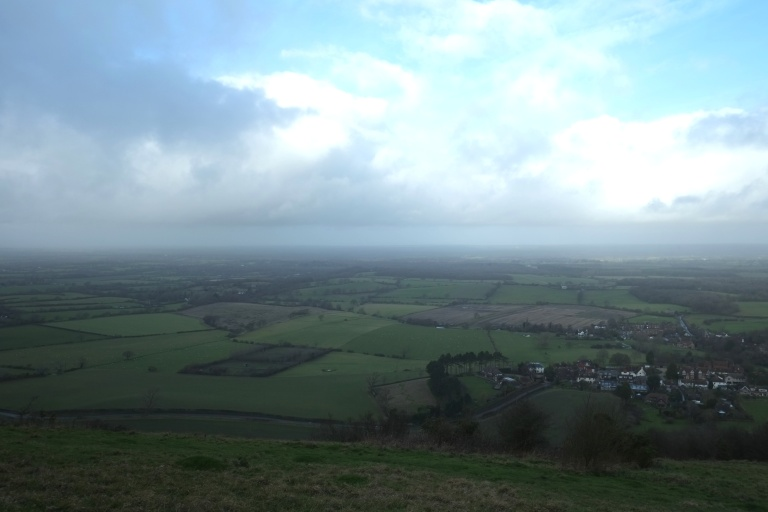View across the Weald* from Devil's Dyke