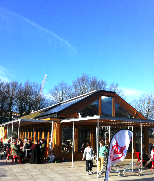 Blue skies above Velo at the Level