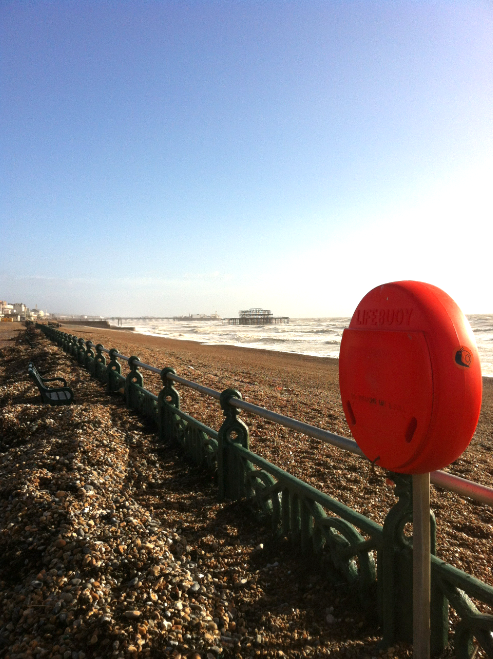 Hove seafront - Feb 2014