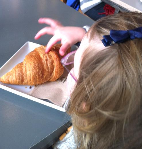 A delicious Small Batch croissant - yum, yum