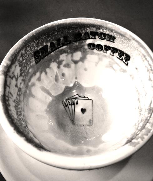Cup empty alas...