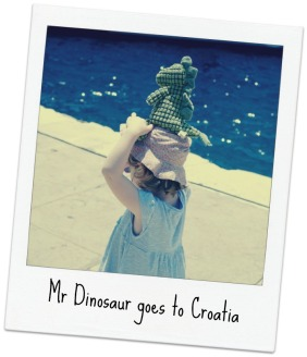 Mr Dinosaur goes to Croatia